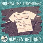 A Boomerang Called Kindness, Small-Town Girl at Heart